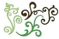 sizzix decorative flourish