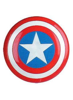 Captain America Shield - Kids Bedroom