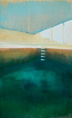 New Blood Art   Here in the Pool by Paul Smith   Buy Original Art Online   Artworks by Emerging Artists for Sale