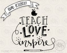 Teacher SVG It Takes a Big Heart to Help by TheSmudgeFactoryLLC