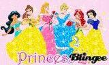 glitter disney princesses Pictures [p. 1 of 1] | Blingee.com