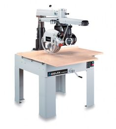 Save $ 4 order now DELTA 33-400 14-Inch 3 Horsepower Radial Arm Saw, 230-Volt 1