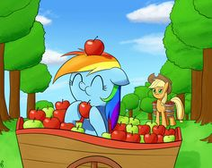 Apple Dash by ParadigmPizza.deviantart.com on @DeviantArt