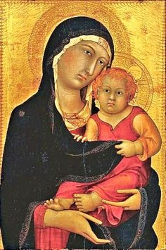 1326 Madonna and Child,  (Unknown Artist, probably Sienese)