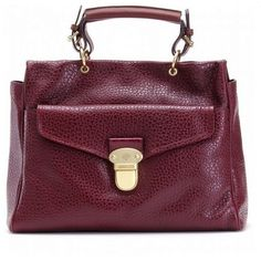 61bdc612a959 Fancy Mulberry Polly Push Lock Tote Bag Purple sale Purple Bags