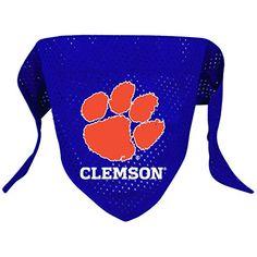 NCAA Clemson Tigers Pet Bandana Team Color Small * Visit the image link more details.