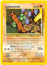 Neo Revelation Card 26 - Sudowoodo $11.25-$15.00