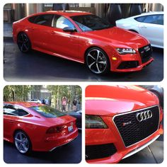 """As Ice Cube would say, """"today was a good day!""""  Especially toying around in the 2014 Audi RS7 in Vegas. -- Sporty, Aggressive & Sophisticated are the three key pillars from #quattro GmbH for this 4-door performance vehicle. #AutomotiveRhythms #TruthInEngineering  -4-liter TFSI V8 -560 horsepower & 516 lb-ft of torque -0 to 60 mph in 3.7 seconds  -174 mph top speed -EPA 16/27 utilizing Audi cylinder on demand"""