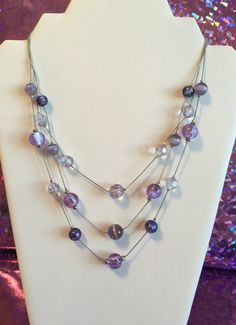 A personal favorite from my Etsy shop https://www.etsy.com/listing/289816355/glass-balls-lavender-tones-three-layer