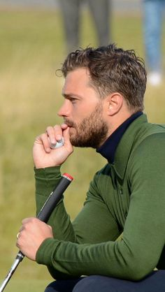 Jamie Dornan at Alfred Dunhill Links (3 October 2015)