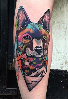 Andrew Marsh LittleAndy dog tattoo