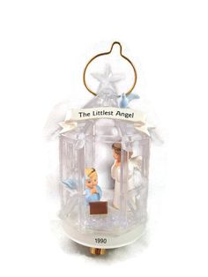 "Lovely Hallmark Keepsake ornament from the Christmas Classics series featuring ""The Littlest Angel"". This is the fifth and final in the Christmas Classics Series.  The Litt... #etsysale #shopsmall #vintageshop #vintagelife #vintagelover #vintage #collectibles"
