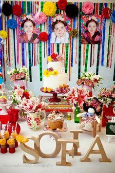 Fiesta Cake Table