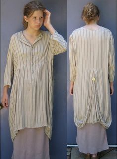 Vintage  EDWARDIAN DESIGNER DRESS by Morgan Puett by vintagous, $89.00