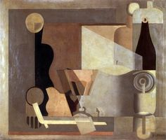 Pale Still Life with Lantern by Le Corbusier 1922, France. / Blogger