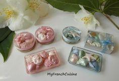 My french cuisine  tiny bath soaps!