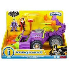 Imaginext dc super friends gotham city the joker and #harley #quinn battle #vehic,  View more on the LINK: 	http://www.zeppy.io/product/gb/2/311793671601/