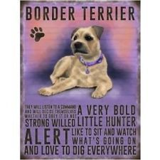 Staffordshire Bull Terrier Metal Plaque Dog Sign Pet Wall