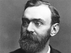 Alfred Bernhard Nobel. He was the inventor of dynamite. Nobel held 350 different patents. He used his fortune posthumously to institute the Nobel Prizes.