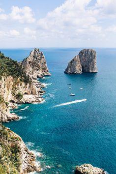 The Amalfi Coast: Capri |  A Couple Cooks  via @acouplecooks