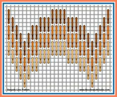 Hardanger Embroidery Patterns Bargello Line Pattern Motifs Bargello, Broderie Bargello, Bargello Patterns, Bargello Needlepoint, Bargello Quilts, Needlepoint Stitches, Needlepoint Canvases, Needlework, Hardanger Embroidery