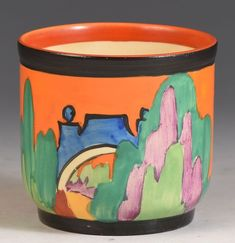 Tableware Clarice Cliff Art Deco Bizarre Delecia Citrus Plate Truly Stunning In Short Supply Pottery