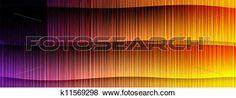 achtergrond, van, gekleurde, lijnen Bekijk Grotere Illustratie