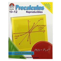 This easy-to-use workbook is full of stimulating activities that will give your students a solid introduction to precalculus! A variety of lessons, puzzles, mazes, and practice problems will challenge