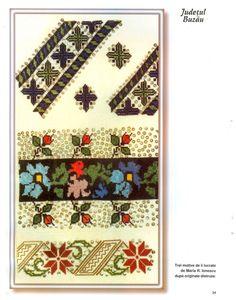 Florile raiului cusaturi populare romanesti originale din anul 1937… Advent Calendar, Projects To Try, Traditional, Stitch, Holiday Decor, Cards, Model, Punto De Cruz, Dots