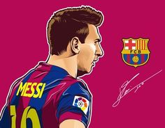 """Check out new work on my @Behance portfolio: """"Loinel Messi"""" http://be.net/gallery/37787897/Loinel-Messi"""
