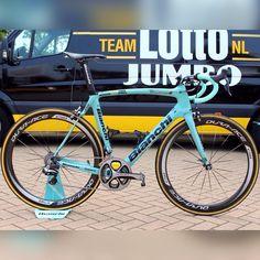 """Bianchi Oltre Xr2 Lotto Jumbo  bianchi italia duraace"" Touring Road Bike 9c1a7a982"