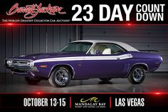 71 Challenger R/T Torsion Bar Suspension, Street Performance, Barrett Jackson Auction, Rear Ended, Collector Cars, Retro Cars, Automatic Transmission, The World's Greatest, Dodge