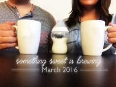our pregnancy announcement & story (: