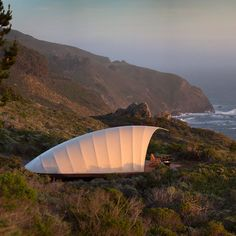 Treebones Resort, Big Sur, CA - Top Luxury Tent & Yurt Camping Sites - Sunset Camping Pod, Camping Resort, Best Tents For Camping, Camping Glamping, Luxury Camping, Camping Con Glamour, Best Places To Camp, Luxury Tents, Big Sur