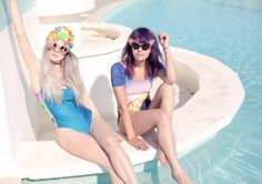 Summer Is Ready When You Are - Now is the time to go all out in whatever acid-trip-mermaid get-up your heart desires.