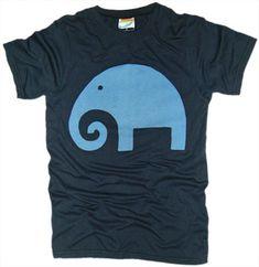 Men's Block Elephant T-Shirt – Vintage T-Shirt Review – Palmer Cash   Vintage T-Shirt Design Reviews