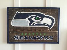 Seattle Seahawks Sign Wall Decor by HurleyandCo on Etsy https://www.etsy.com/listing/248372723/seattle-seahawks-sign-wall-decor