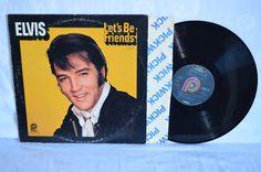 Elvis Presley Lets Be Friends Vinyl Record LP by FloridaFinders, $7.50