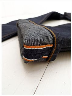 Orange selvage