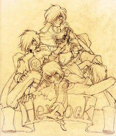 Harlock - Find here  http://animekritik.wordpress.com/2013/06/11/visual-harlock/?utm_source=twitterfeed_medium=twitter  ...loving it ^^