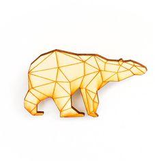 Origami Polar Bear.