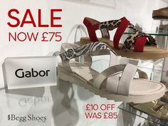 😍 Gorgeous leather sandals from Gabor now reduced with £10 off ❗️ Go for animal bold animal print or keep it neutral - check out the full range of Gabor Sandals Sale here 👉 www.beggshoes.com/Womens/gabor-shoes/all-sandals/sale/ #gabor #gaborsandals #sandals #sale #sandalssale #leathersandals #summerfashion #gaborshoes Sandals For Sale, Summer Sandals, Gabor Shoes, Leather Sandals, Shopping Bag, Espadrilles, Neutral, Range, Brand New