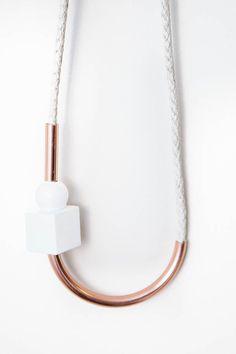Chock A Block Copper Necklace – PARC BOUTIQUE
