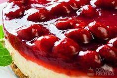 Receita de Cheesecake tentação de morango em receitas de bolos, veja essa e outras receitas aqui!