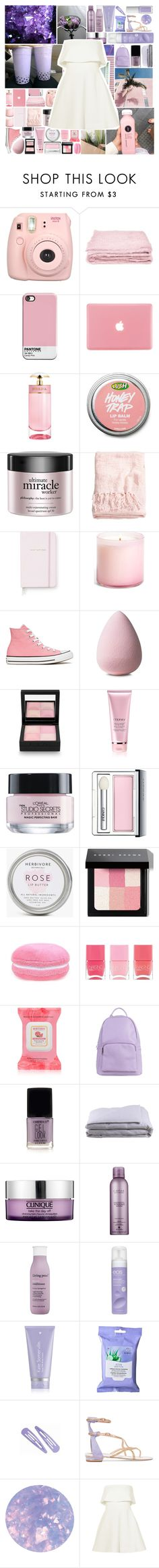 """Come On Come on Turn The Radio On//Ivory and Claire"" by clairexivory ❤ liked on Polyvore featuring abcDNA, Prada, philosophy, H&M, Kate Spade, LAFCO, Converse, Givenchy, By Terry and L'Oréal Paris"