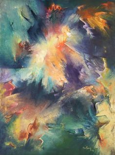Cuadro Óleo Original 60 X 80 Esencialismo Pintura Abstracta - $ 2.900,00 en MercadoLibre