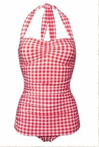 Esther Williams Red Gingham Vintage Pin Up Retro 50s Swimsuit Many Sizes | eBay