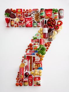Food. Food. Food. & the Number Seven.