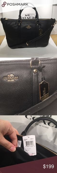 👑Coach Central Satchel👑 NWT, Comes with gift box and gift receipt 🎁🎉💝❤️ Coach Bags Satchels