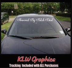 IDH8TOO 22/'/' decal vinyl car sticker diesel windshield banner honda jdm